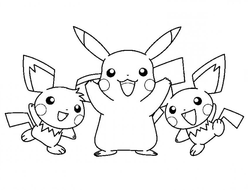 pikachu coloring page,printable,coloring pages
