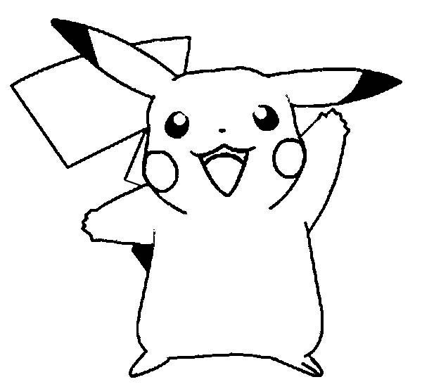 pikachu coloring page to print,printable,coloring pages