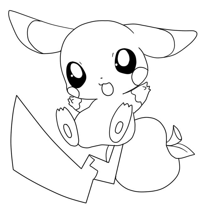 15 Printable Pikachu Coloring Pages - Pikachu Pokemon ...
