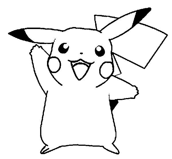 13 printable pikachu coloring pages | Print Color Craft