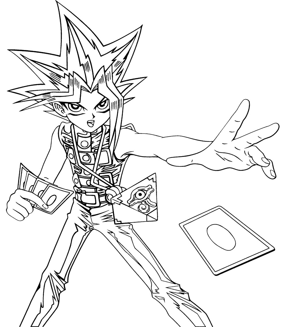 yugioh coloring pages 14,printable,coloring pages
