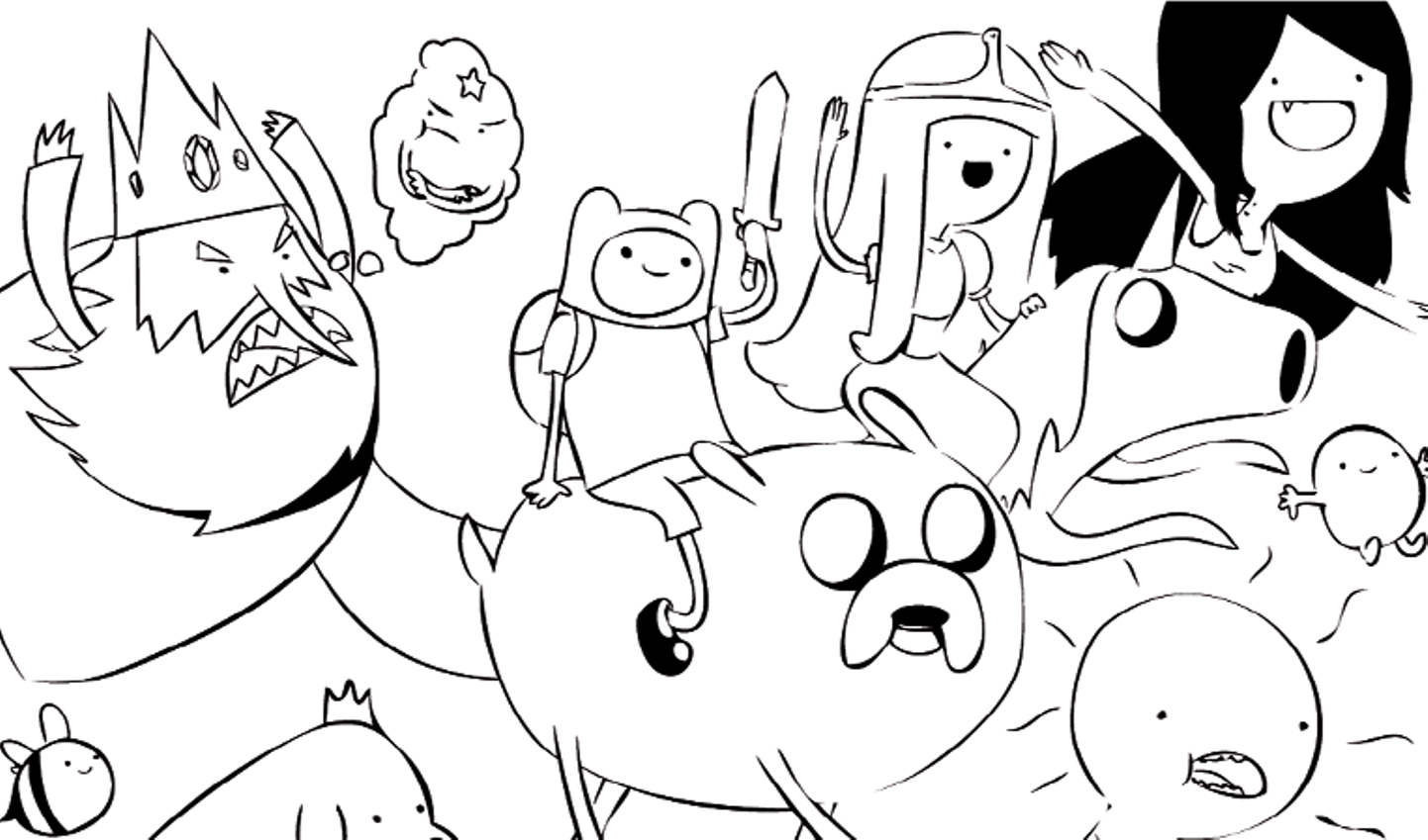 adventure-time coloring pages printable,printable,coloring pages