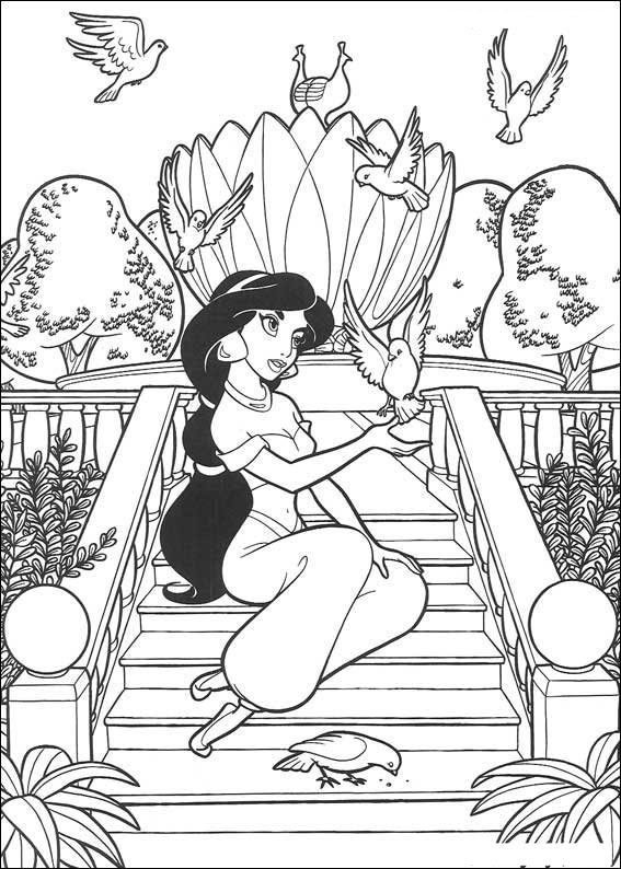 aladdin coloring pages 12,printable,coloring pages