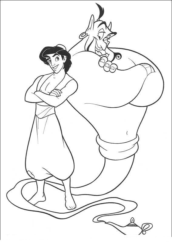 printable pictures of aladdin page,printable,coloring pages