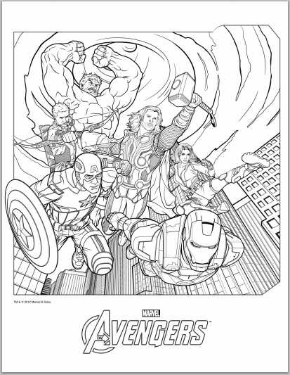 avengers coloring pages printable,printable,coloring pages