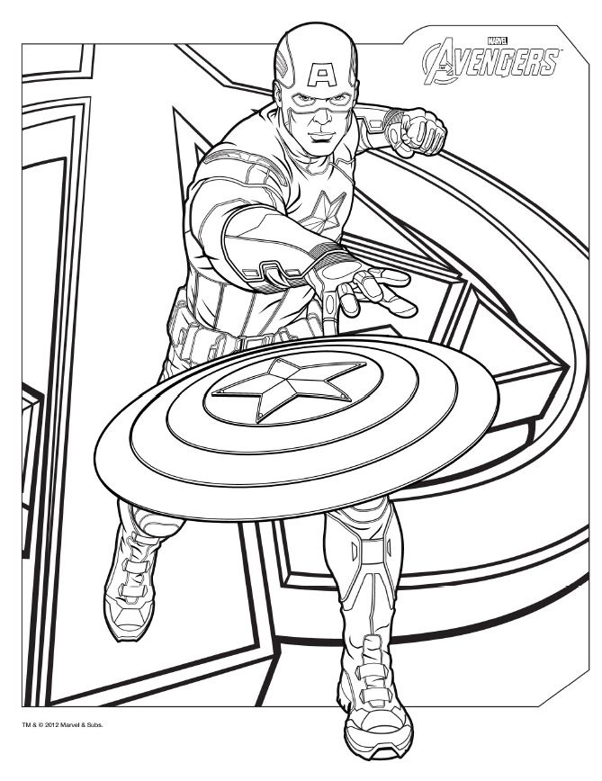 coloring pages of avengers,printable,coloring pages