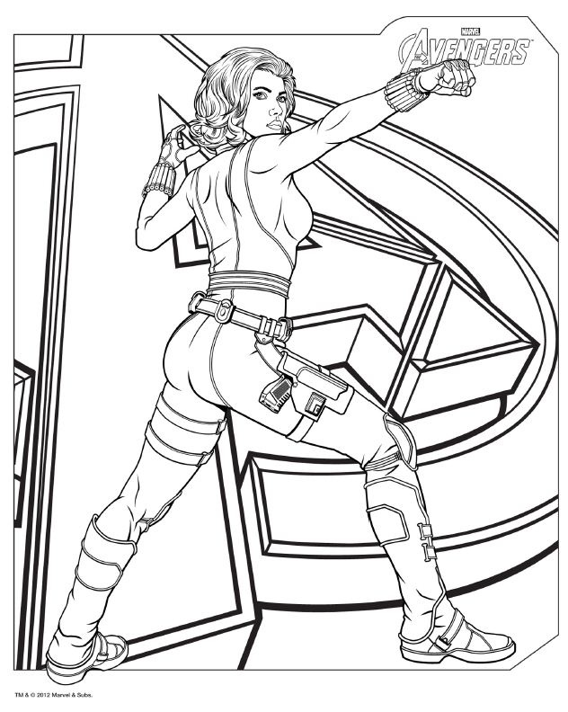 coloring pictures avengers,printable,coloring pages