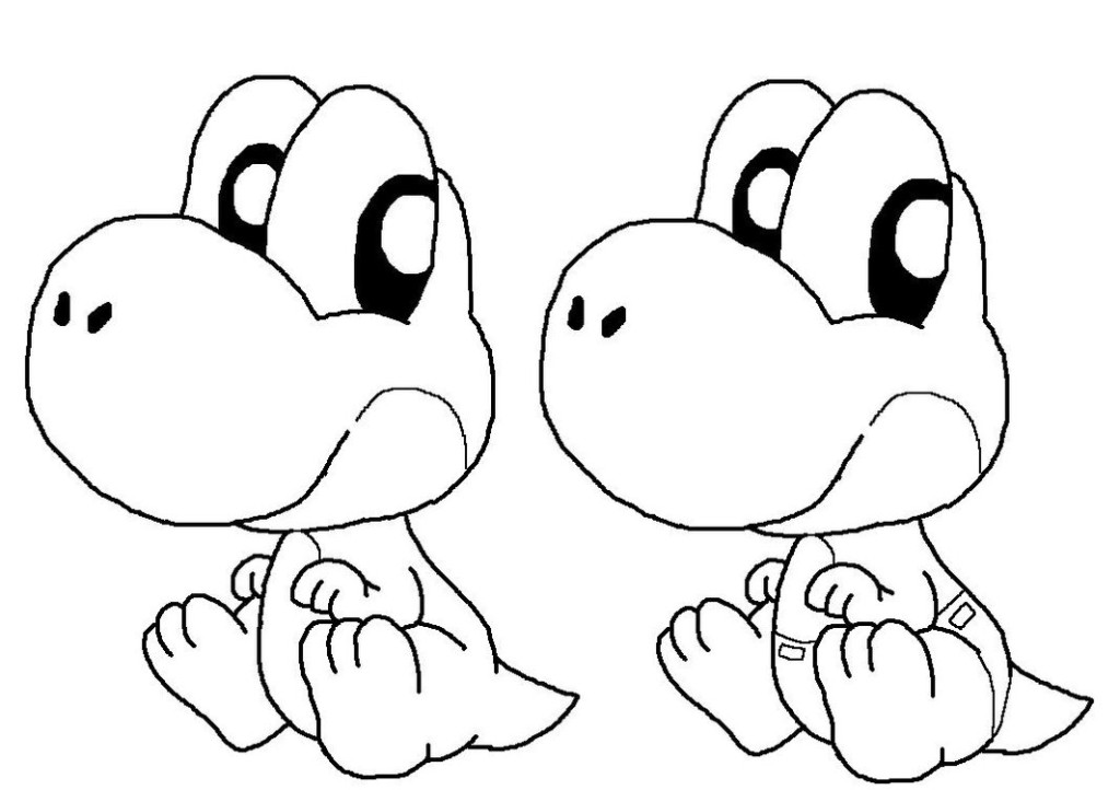 baby-yoshi coloring pages,printable,coloring pages