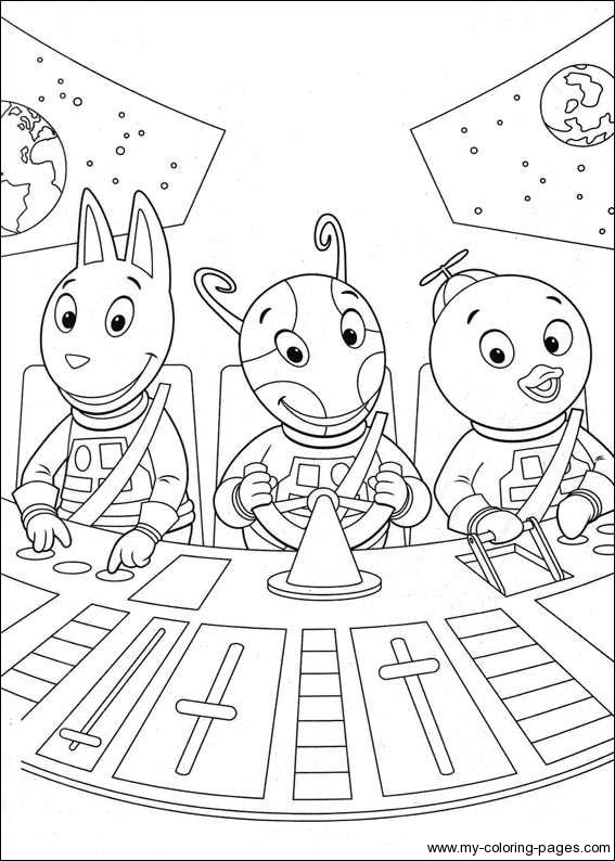 backyardigans coloring page to printprintablecoloring pages - Backyardigans Coloring Pages Print