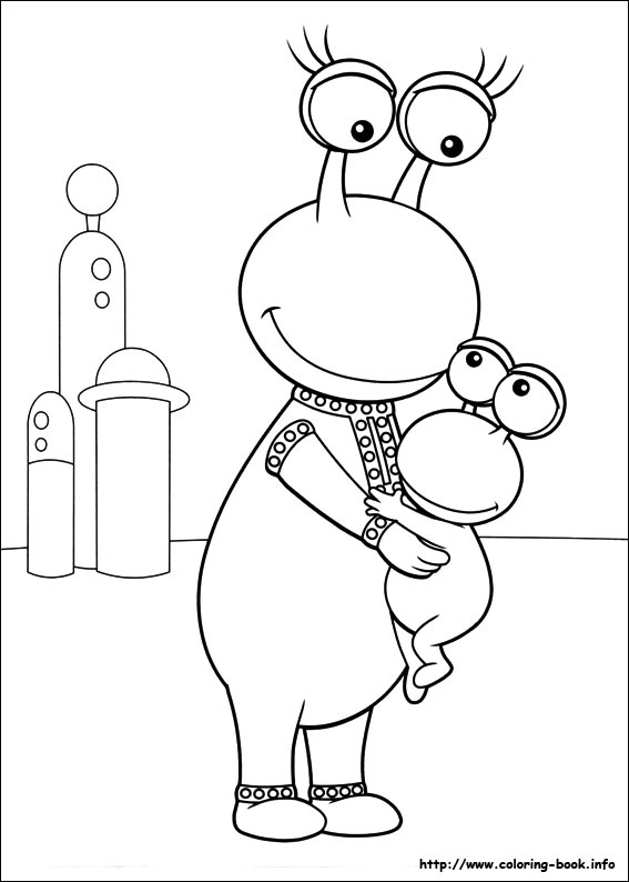 coloring pages of backyardigans,printable,coloring pages