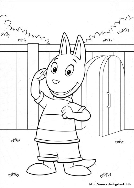 13 Backyardigans Coloring Pages Printable