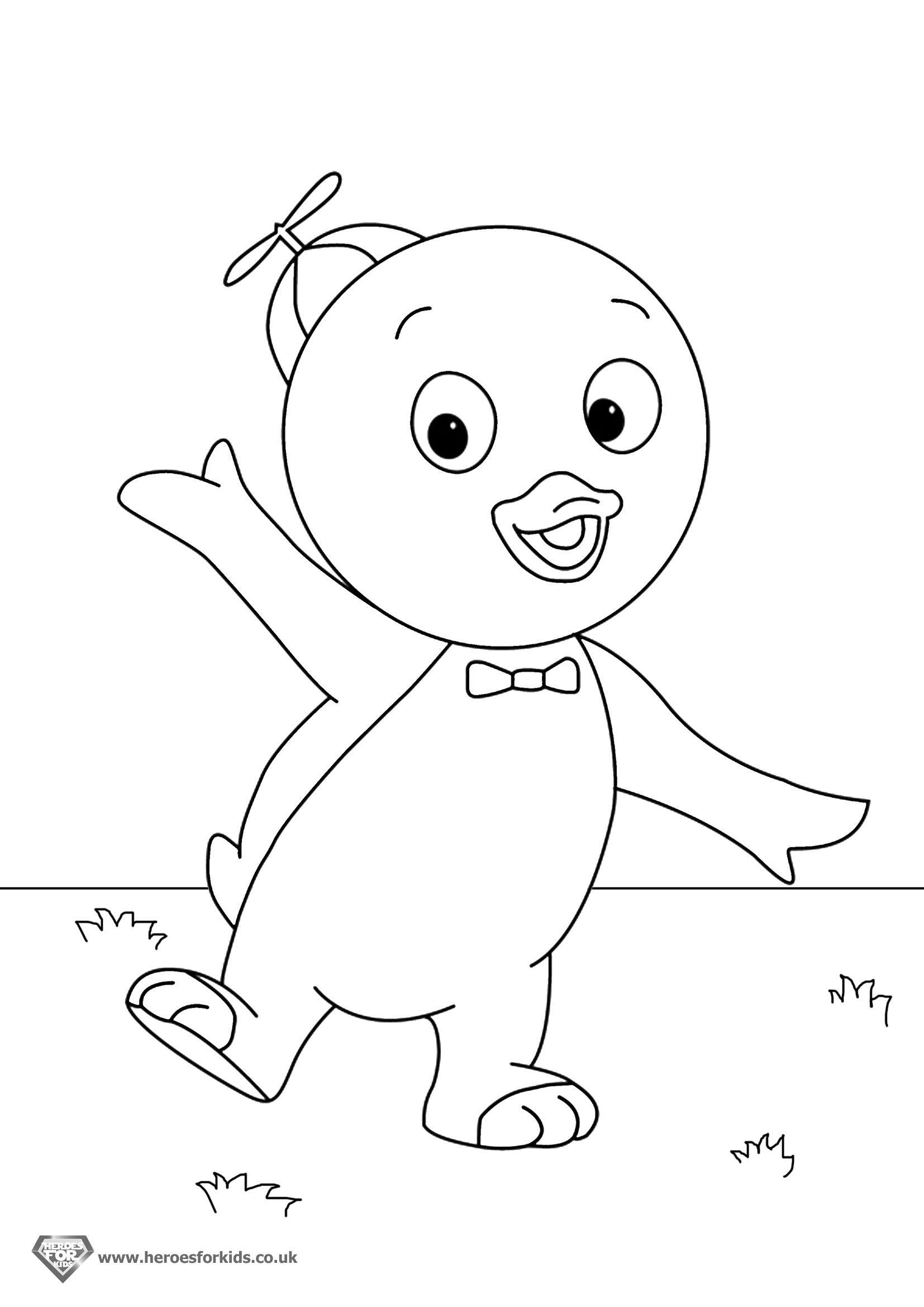 13 backyardigans coloring pages