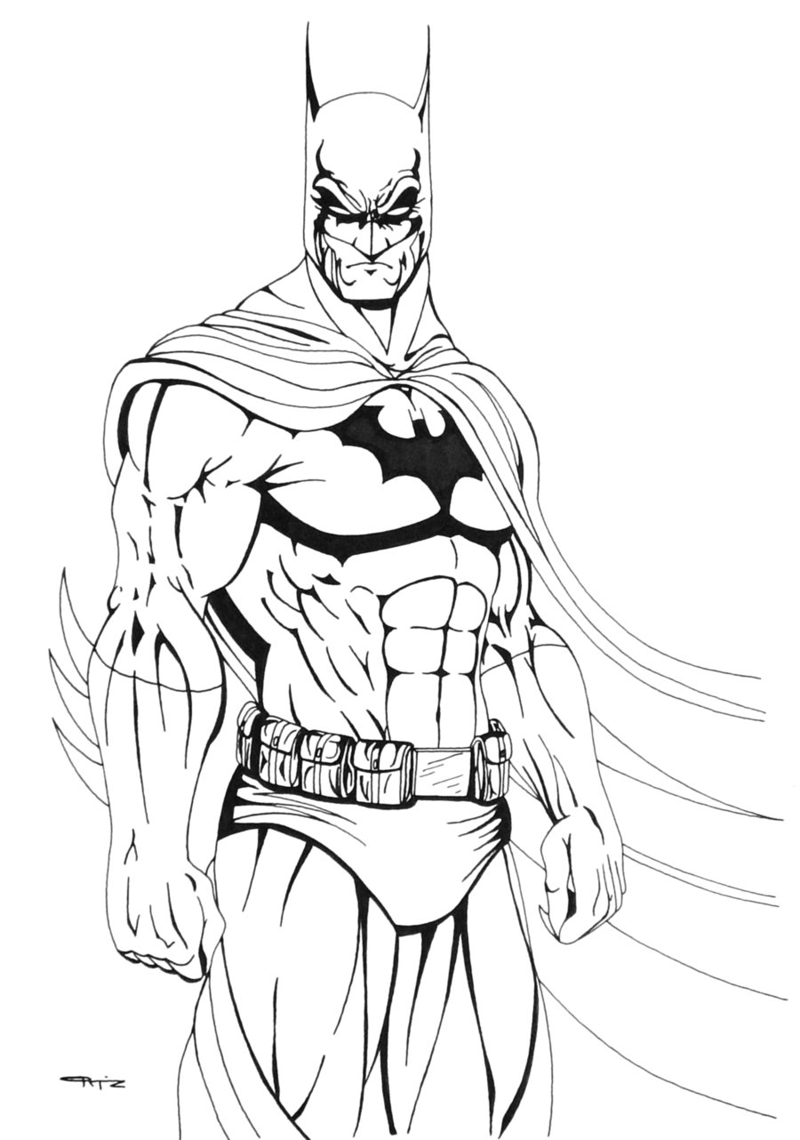 Evil fighter batman coloring pages 34 pictures crafts and ...