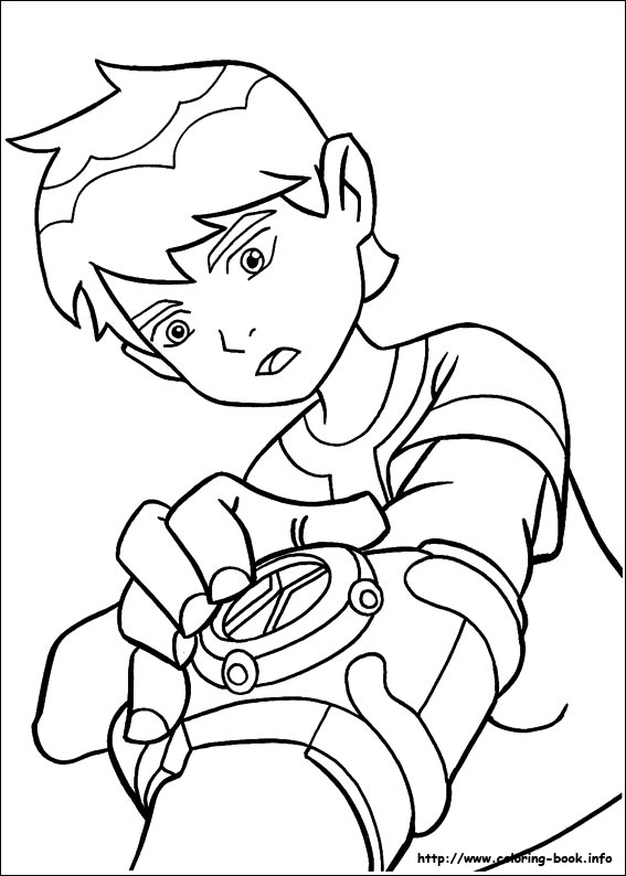 Ben 10 Coloring Pages 13printablecoloring