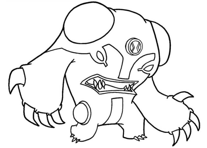 ben-10 coloring pages for kids,printable,coloring pages