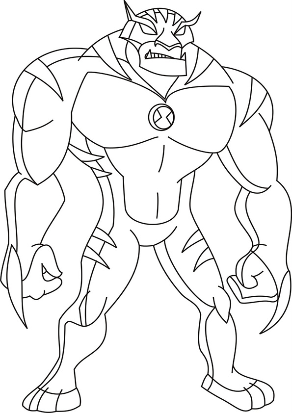 coloring pictures ben-10,printable,coloring pages