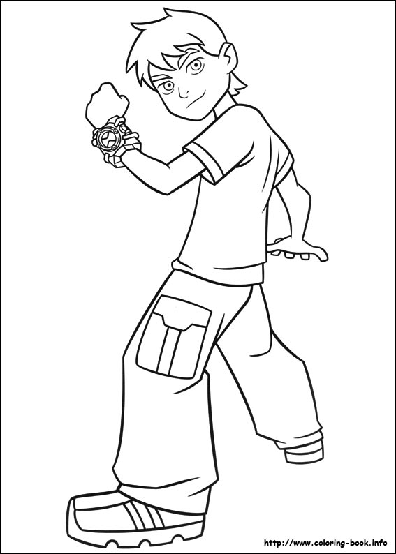 Printable Ben 10 Coloring Pagesprintablecoloring Pages