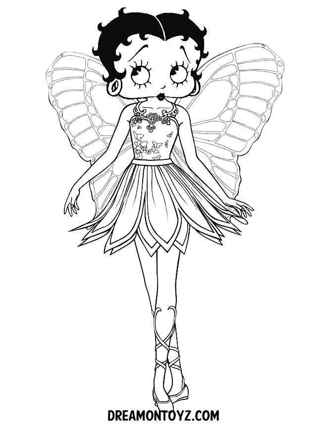 betty-boop coloring pages 12,printable,coloring pages