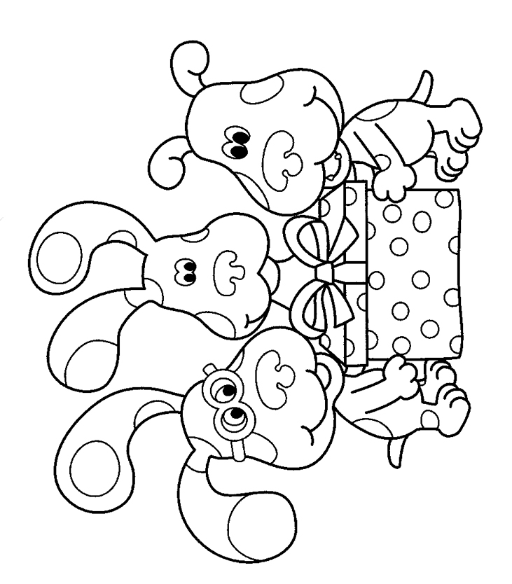 blues-clues coloring page to print,printable,coloring pages