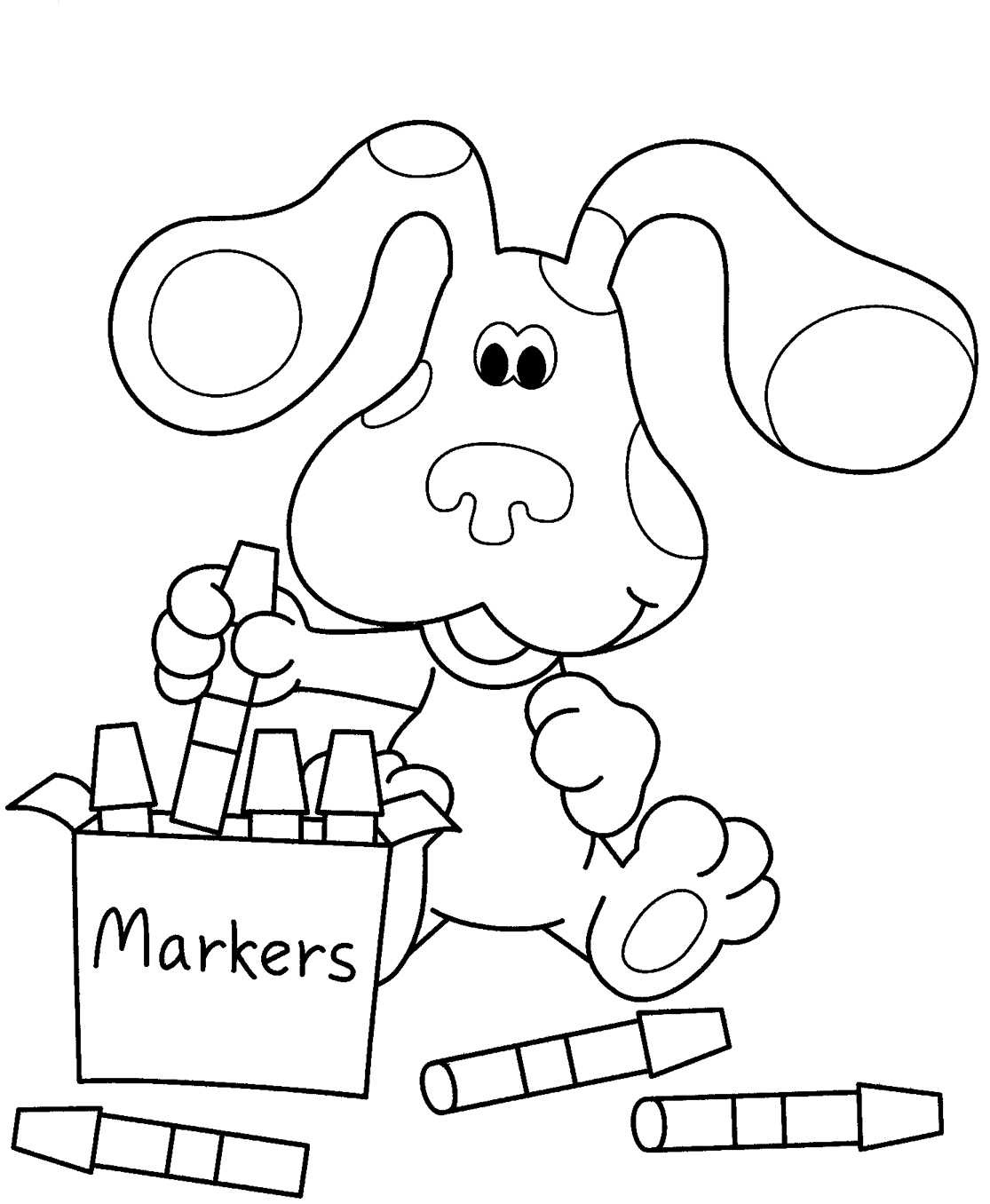 blues-clues coloring pages,printable,coloring pages