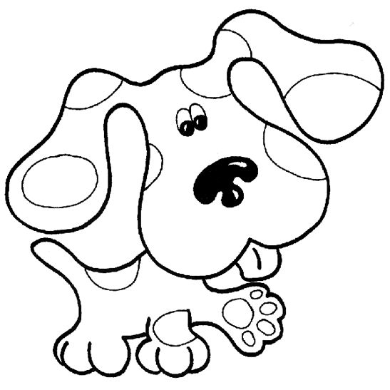 13 Coloring Pages Of Blues Clues Print Color Craft