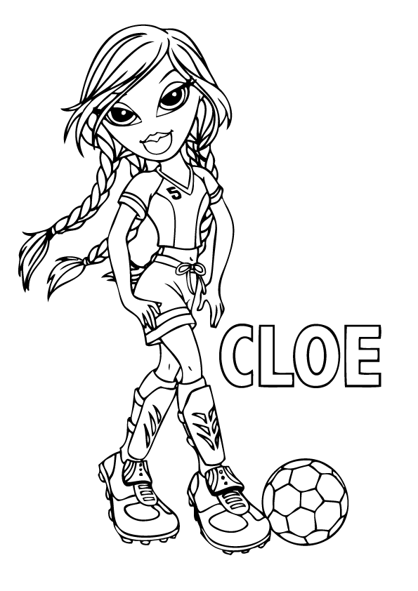 Delicieux 13 Bratz Coloring Page Print Color Craft