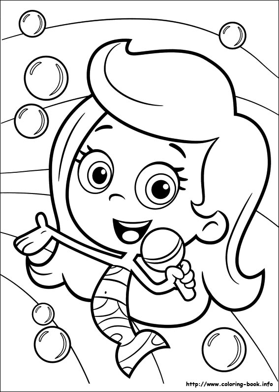 bubble-guppies coloring pages,printable,coloring pages