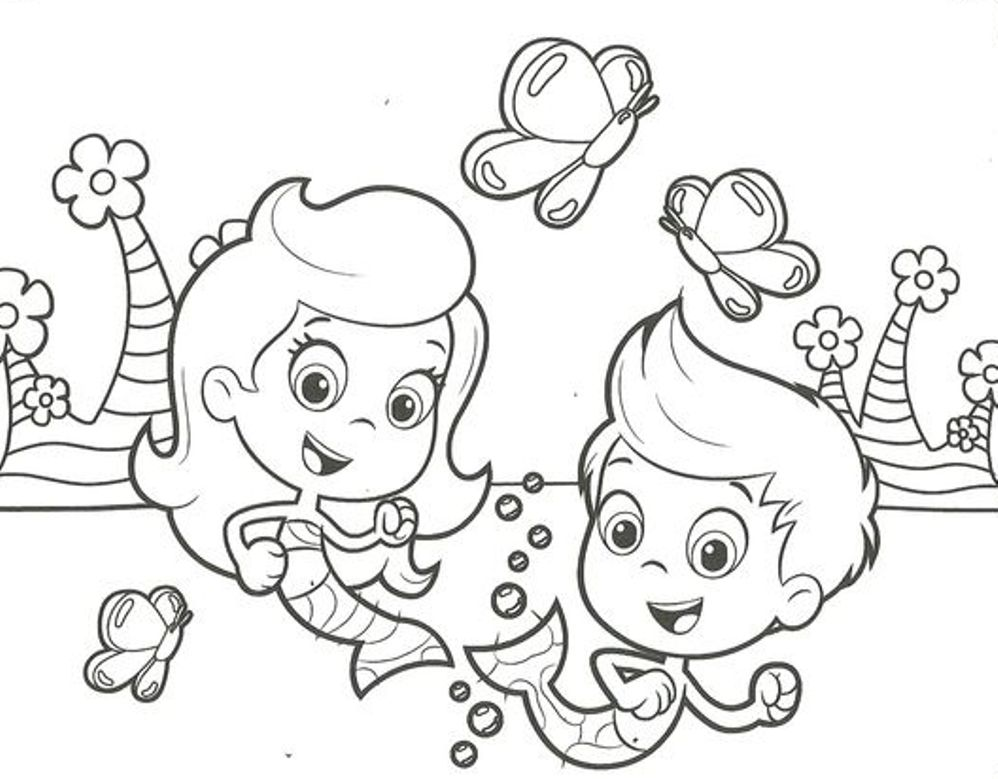 free bubble guppies coloring pages - 13 bubble guppies coloring page to print print color craft