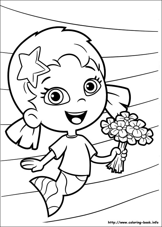 13 bubble guppies coloring page to print  Print Color Craft