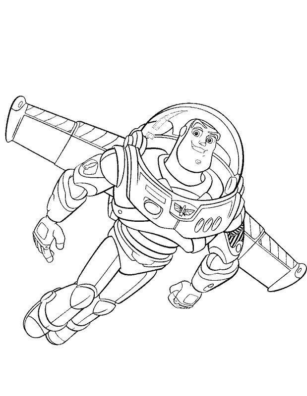 toy story characters coloring pages - 14 coloring pictures buzz lightyear print color craft