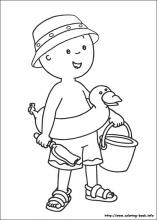 caillou coloring page,printable,coloring pages
