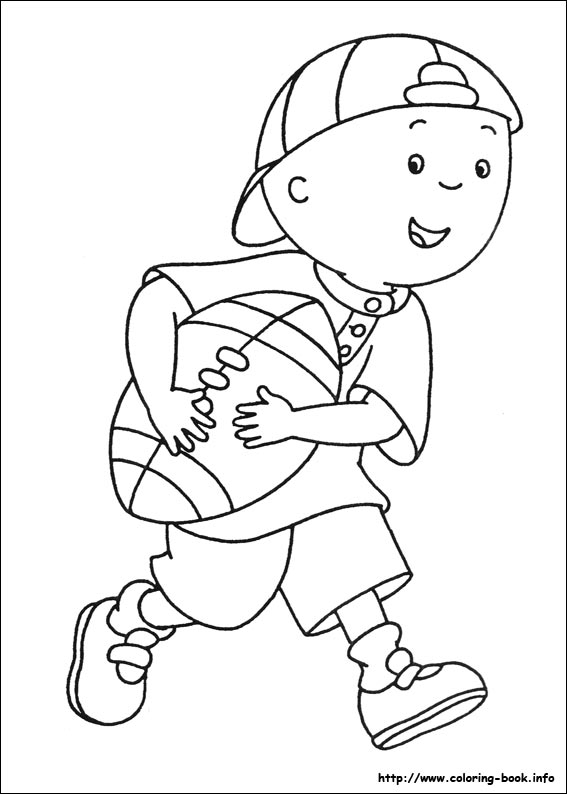 coloring pictures caillou,printable,coloring pages
