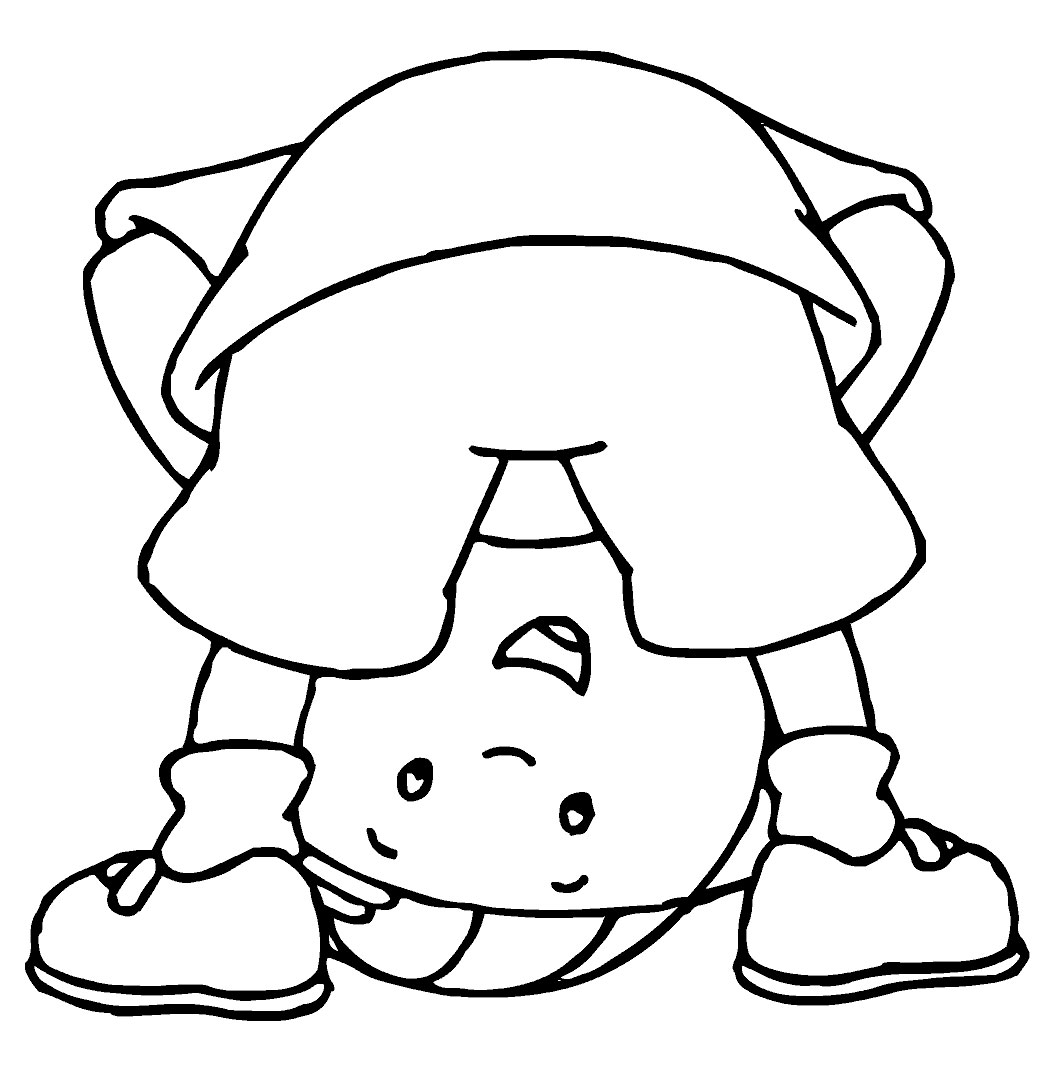 kids coloring pages caillou,printable,coloring pages