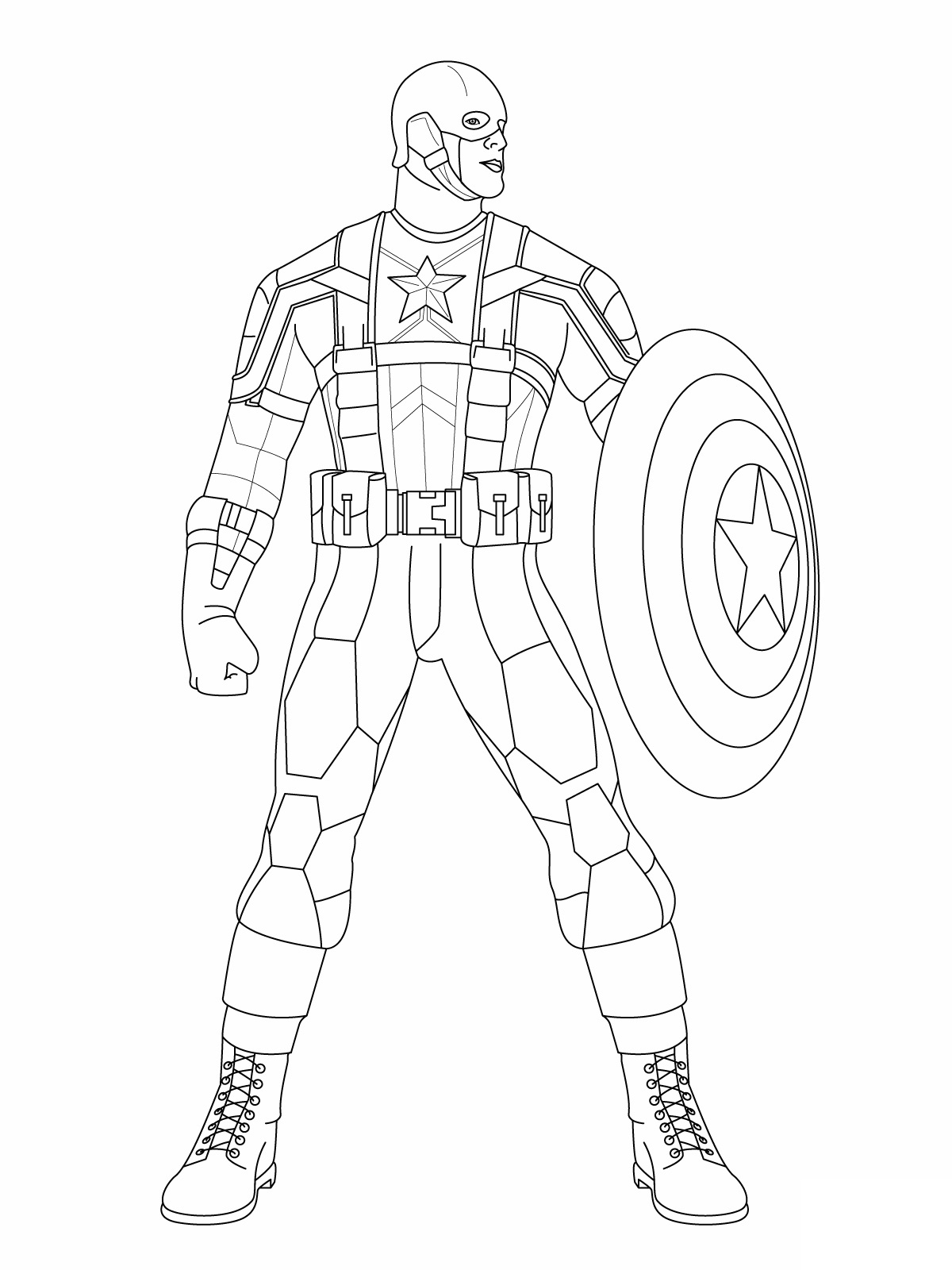 captain-america coloring page,printable,coloring pages