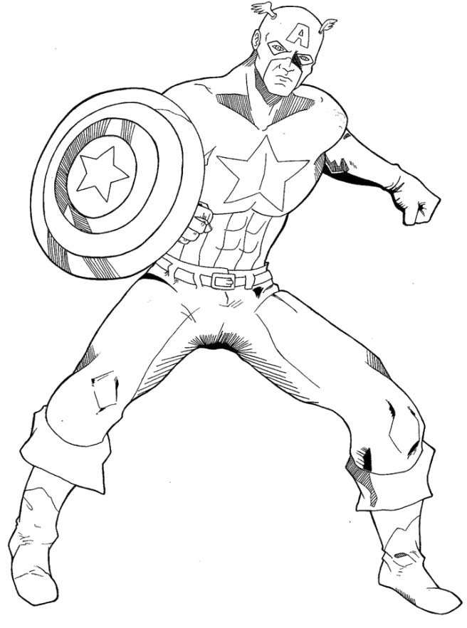 captain-america coloring pages for kids,printable,coloring pages