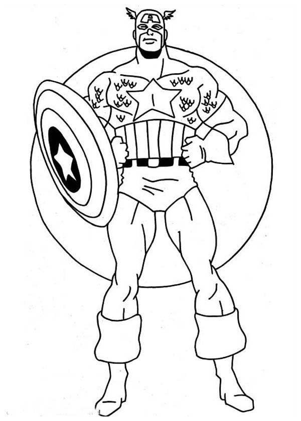 printable pictures of captain-america page,printable,coloring pages