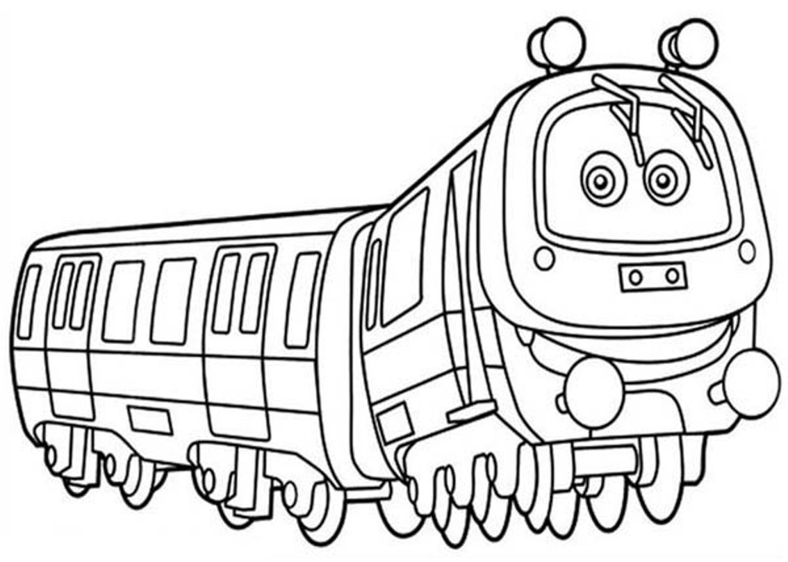 chuggington coloring page to print,printable,coloring pages