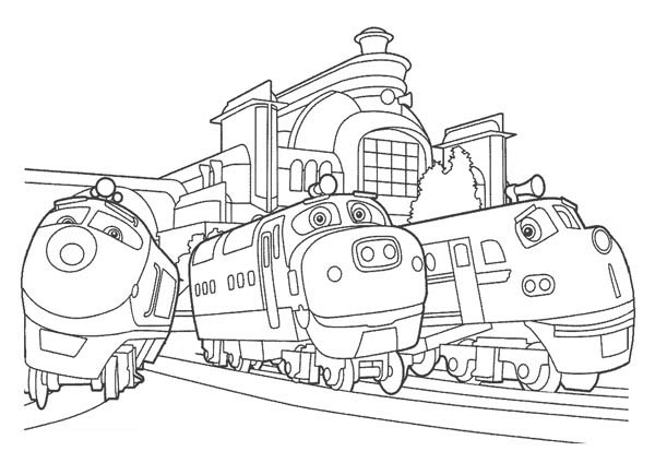 13 Chuggington Coloring Pages Print Color Craft Chuggington Colouring Pages