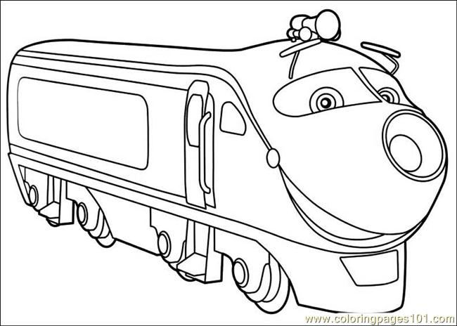 Chuggington Koko Coloring Pages | Coloring Pages