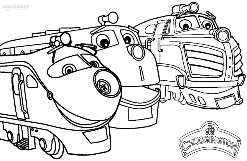 kids coloring pages chuggington,printable,coloring pages