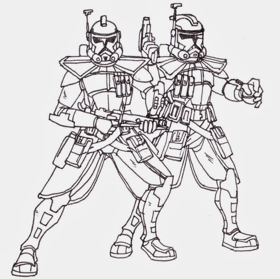 clone-trooper coloring page,printable,coloring pages