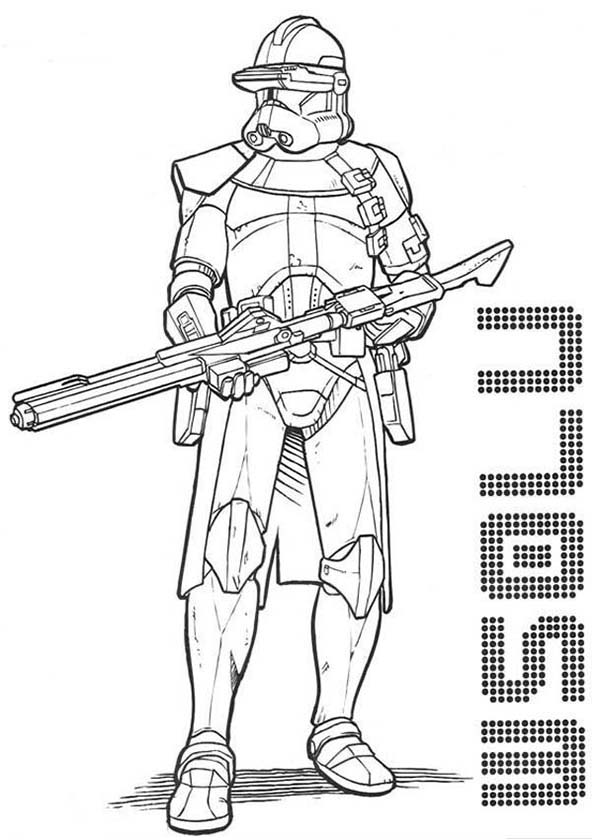 14 clone trooper coloring pages - Print Color Craft