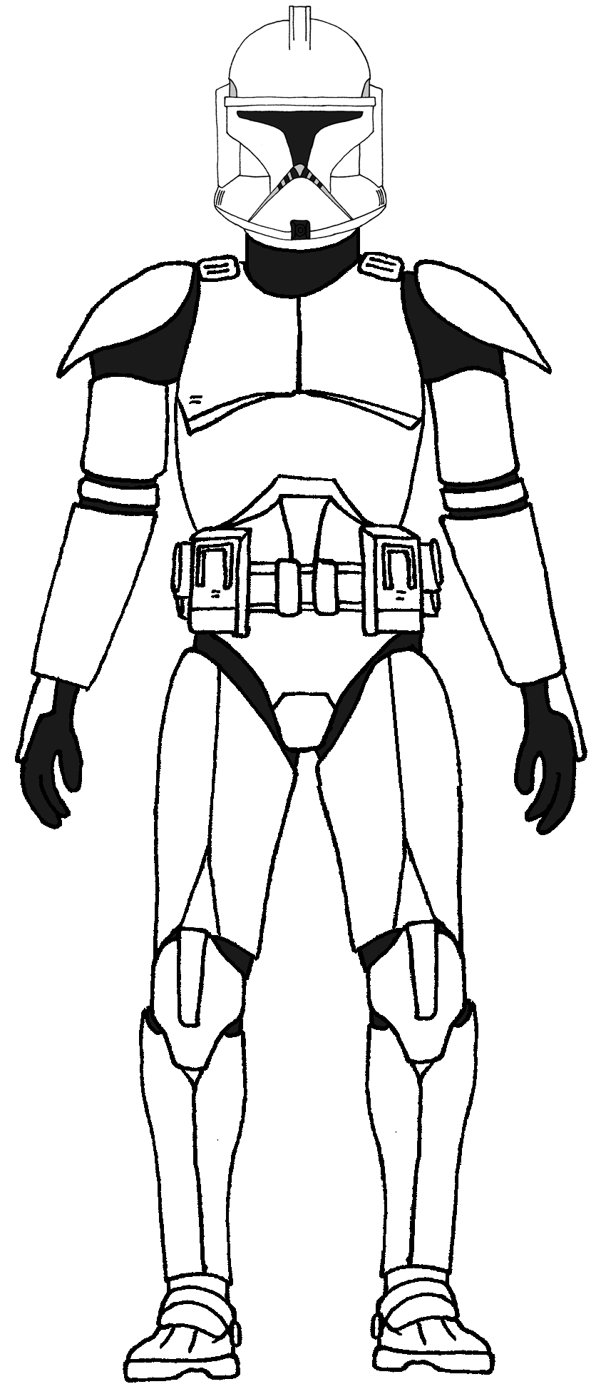 14 clone trooper coloring pages print color craft Clone Trooper Ringo  Clone Trooper Printable Coloring Pages