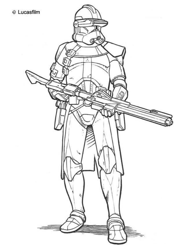 coloring pages of clone-trooper,printable,coloring pages
