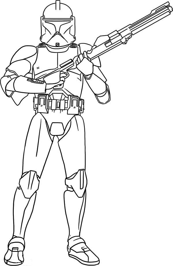coloring pictures clone-trooper,printable,coloring pages