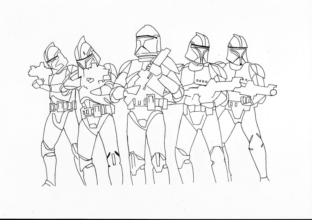 kids coloring pages clone-trooper,printable,coloring pages