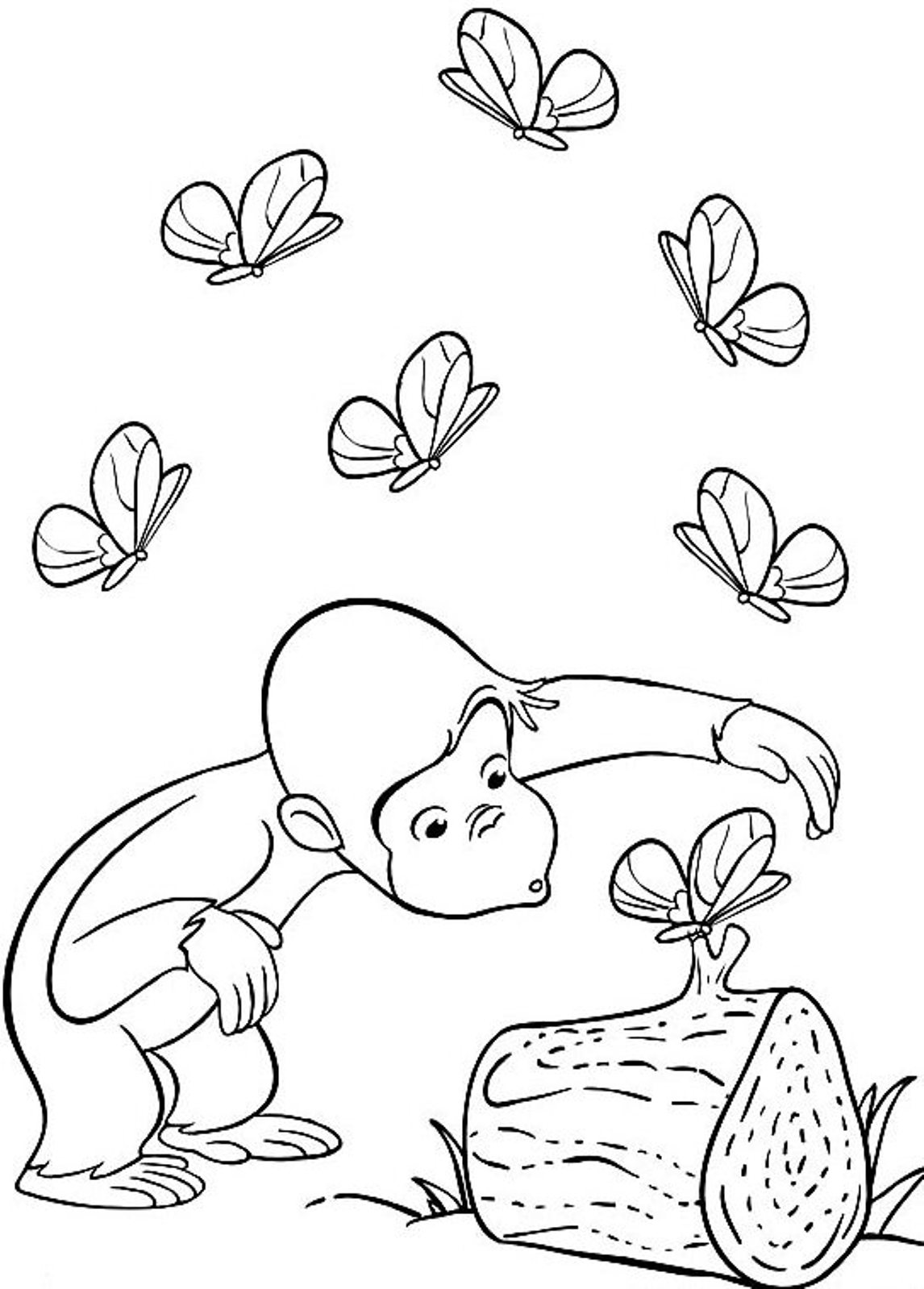 curious-george coloring pages 12,printable,coloring pages