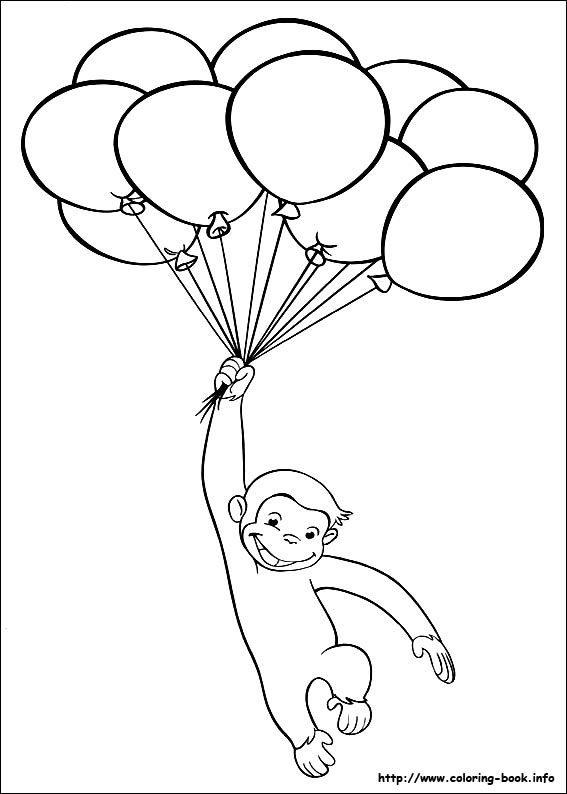 curious-george coloring pages 13,printable,coloring pages