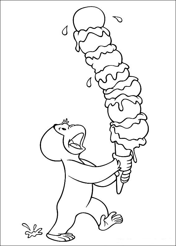 curious-george coloring pages 14,printable,coloring pages