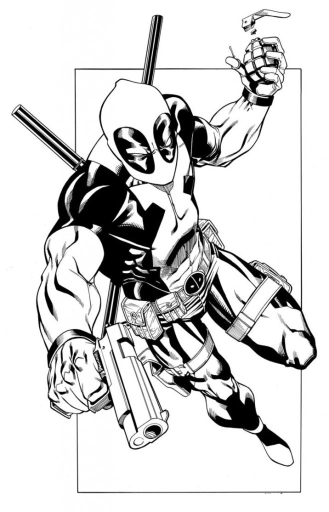 deadpool coloring pages 11,printable,coloring pages